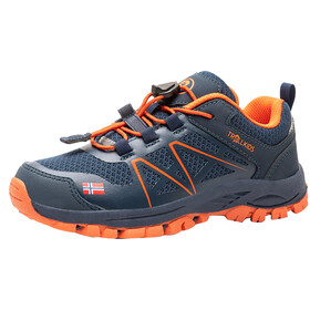 TROLLKIDS Sandefjord Hiker Low Shoes Kids mystic blue/orange